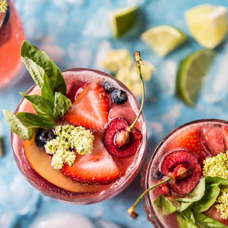 Summertime Rosé Tequila Sangria..