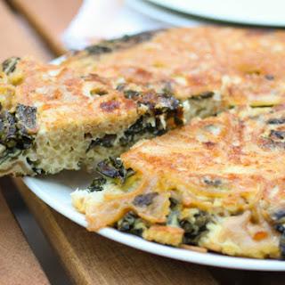 Kale and Pasta Frittata