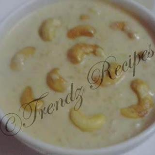 Rice Kheer Dessert Recipe | Payasam | Paravannam