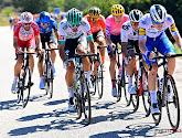 Rémi Cavagna ontvangt met fierheid de prijs van de strijdlust aan het eind van Vuelta