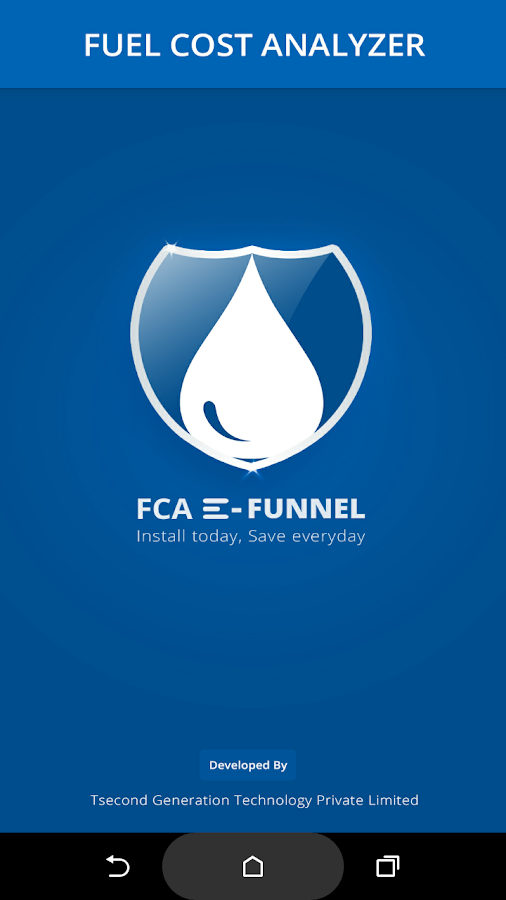 FCA E-Funnel- screenshot