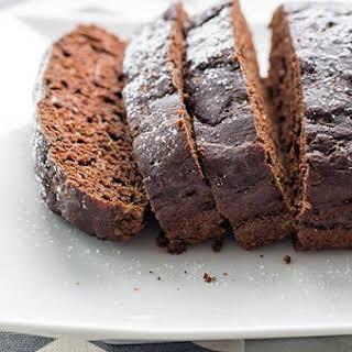 Skinny Dark Chocolate Zucchini Bread.