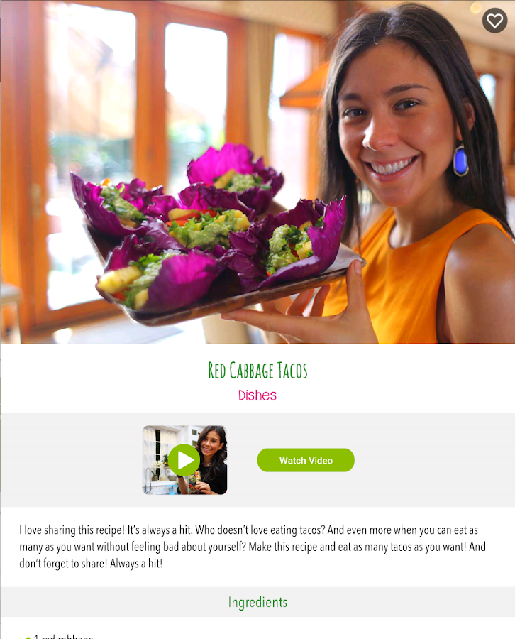 Rawvana's Raw Recipes- screenshot