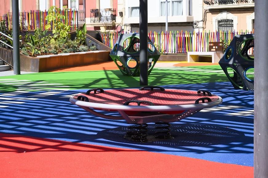 Aspecto actual de la Plaza López Falcón.