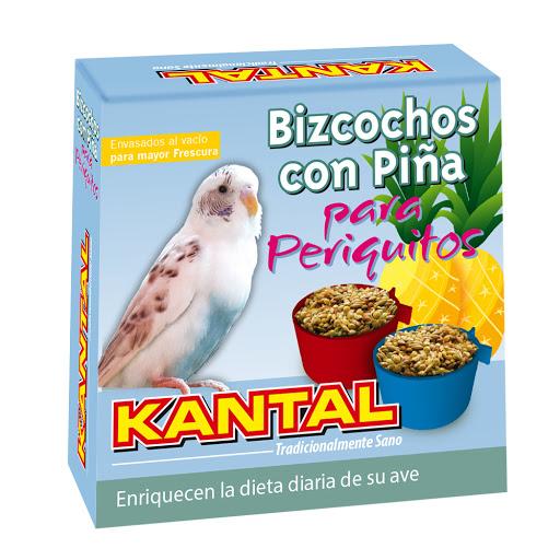 alimento para mascotas bizcochos con pina para periquitos 4und