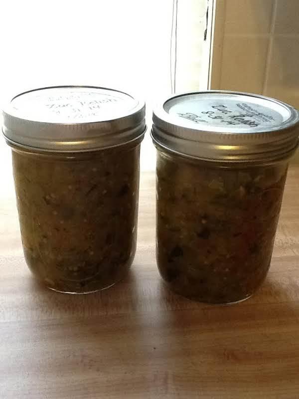 Zucchini Relish Recipe
