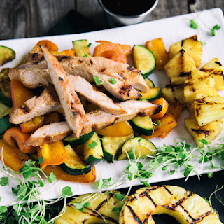 Grilled Pineapple Chicken.