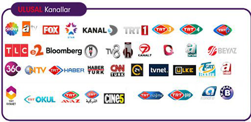 An excellent application you can watch all the TV s in Turkey
