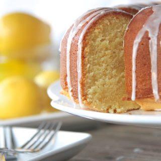Southern Lemon Pound Cake (From Scratch).