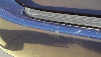Photo: Van damage