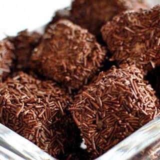 Marbled Chocolate Malt Marshmallows