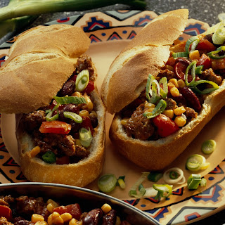 Überbackenes Chili-Baguette