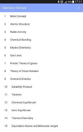 Chemistry Formula 1.3 screenshots 5