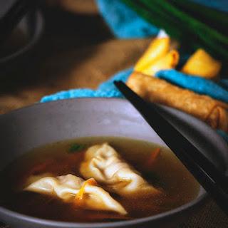 Homemade Dumpling Soup