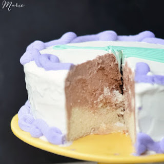 Tillamook Ice Cream Cake