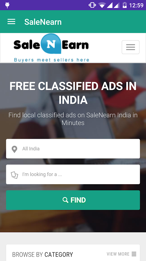 SaleNEarn Free Classifieds- screenshot