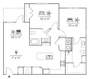 Go to B7 Floorplan page.