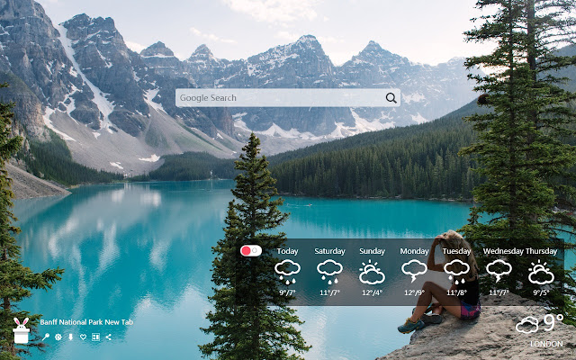 Banff National Park New Tab, Wallpapers HD