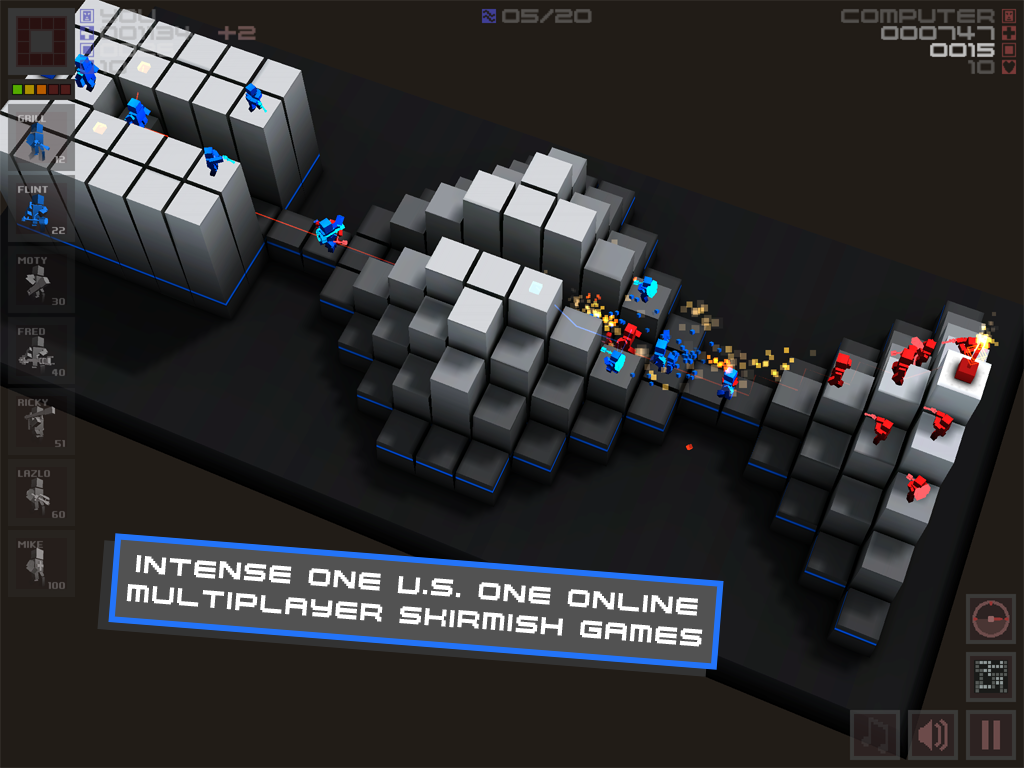 Cubemen- screenshot