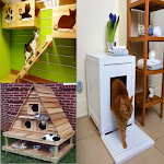 Cat Home design Icon