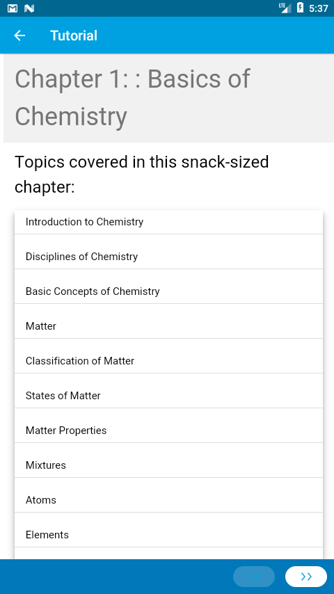 Learn Chemistry via Videos- screenshot