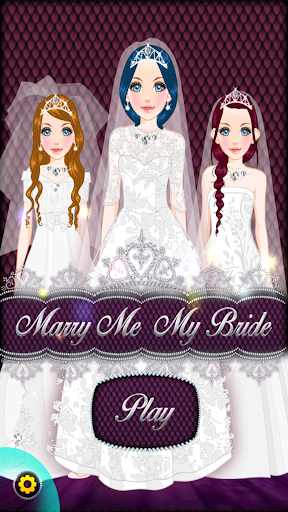 Marry Me My Bride Dress Up