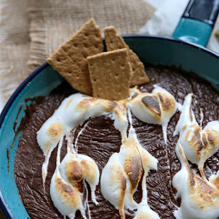 S'mores Skillet Chocolate Dip.