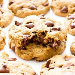 Gluten Free Vegan Oat Flour Chocolate Chip Cookies (V, GF, Dairy-Free).