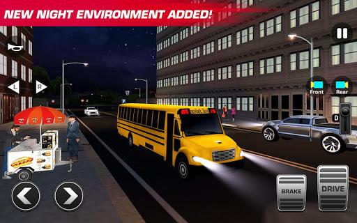 Super High School Bus Driving Simulator 3D - 2020 apkdebit screenshots 4