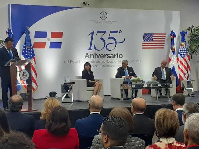 RD y EE.UU. 135 aniversario de relaciones diplomáticas