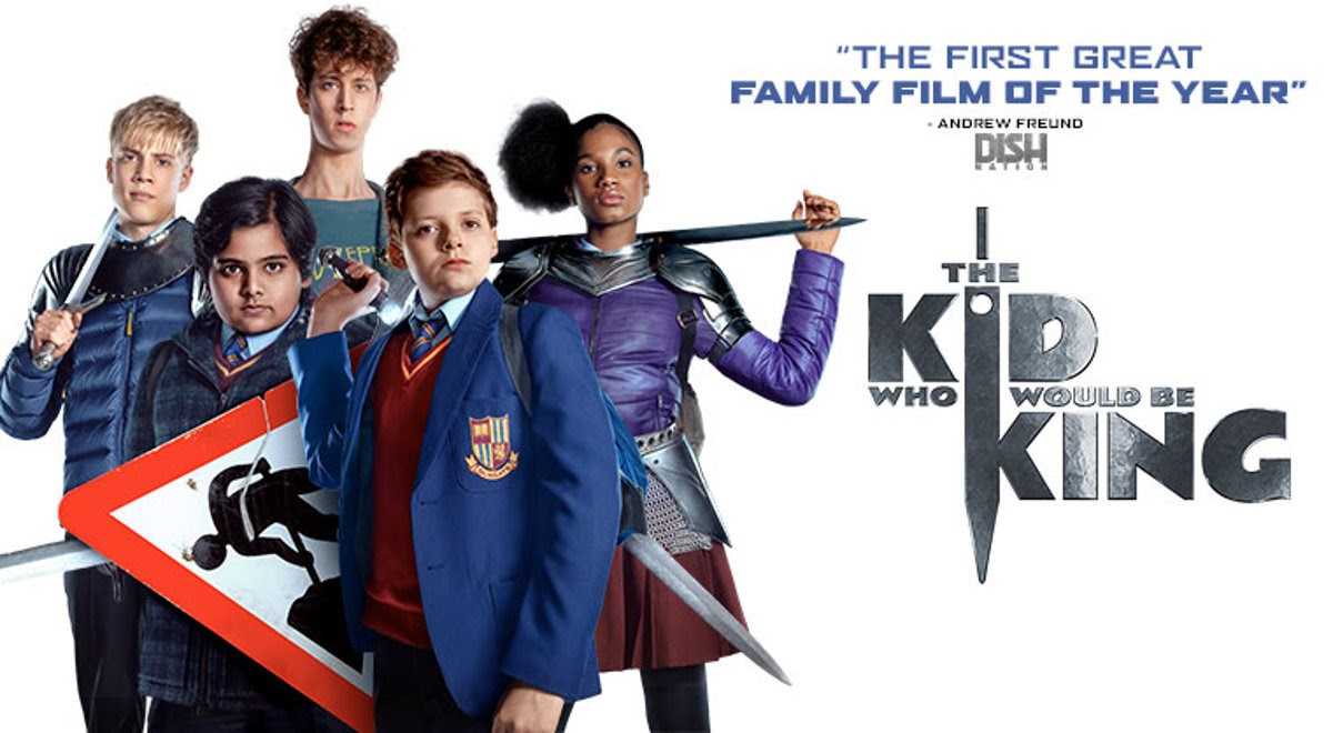 Image: The Kid Who Would Be King movie poster