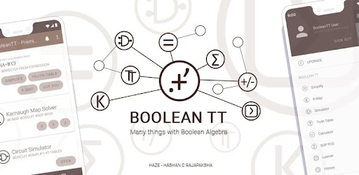 BooleanTT - Many things with Boolean Algebra - Apps on