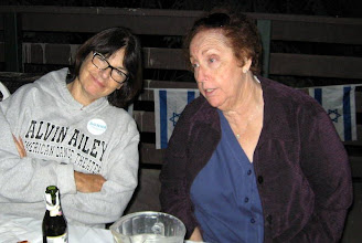 Photo: Donna Chazanov and Yael (Barbara) Yaroslavsky