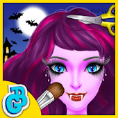 Halloween Hair Salon Kids Game