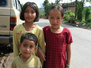 Photo: Kids in a village east of Kathmandu