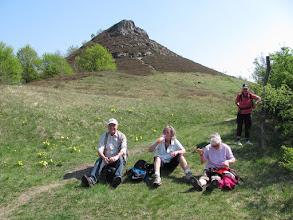 Photo: Picknick bei den Adonisröschen
