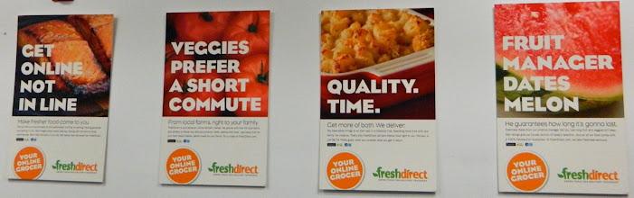 Photo: FreshDirect posters