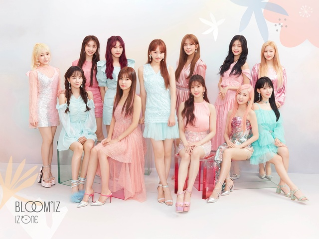 izone pledis cj 1