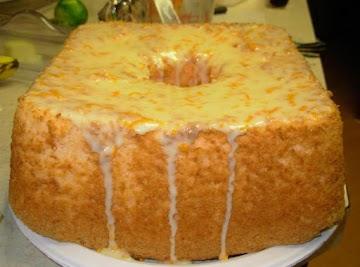 Orange Angel Food Cake Recipe