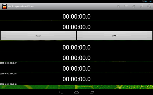 Multi Stopwatch and Timer Pro screenshot 10