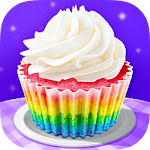 Cupcake Maker! Rainbow Chef Icon