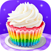 Cupcake Maker! Rainbow Chef