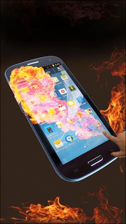 Fire Screen Prank 1.0.2 screenshot 605599
