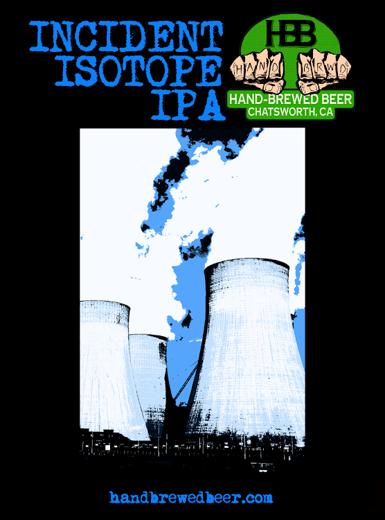Logo of Hand-Brewed Beer Incident Isotope