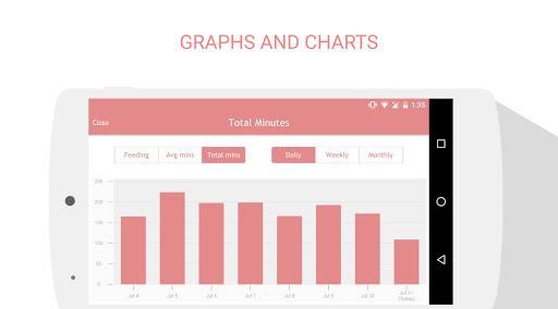 Breastfeeding Tracker Baby Log 1.3.8 screenshots 4