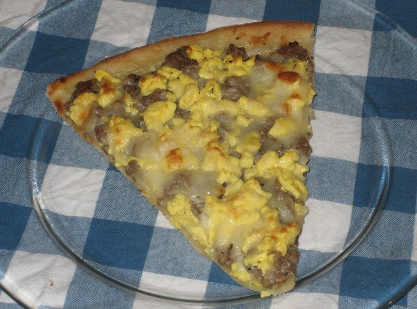Turkey Sausage Breakfast Pizza Recipe