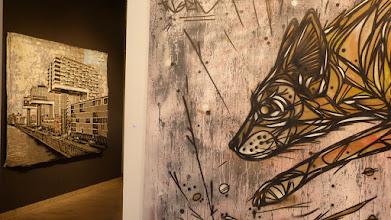 Photo: CityLeaks 2015; Ausstellung Galerie 30Works; Thomas Baumgärtel aka BANANENSPRAYER & DZIA