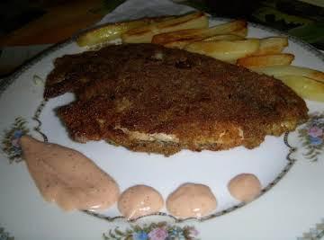 Crumb Fried Fish