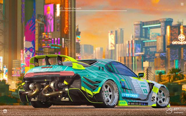 Toyota Supra Hd Wallpapers New Tab Theme