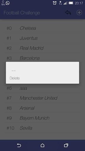 FootballChallenge for Pes Fifa 1.13 screenshots 5